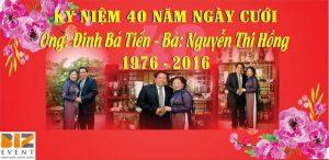 qùa tặng kỷ niệm 40 năm ngày cưới